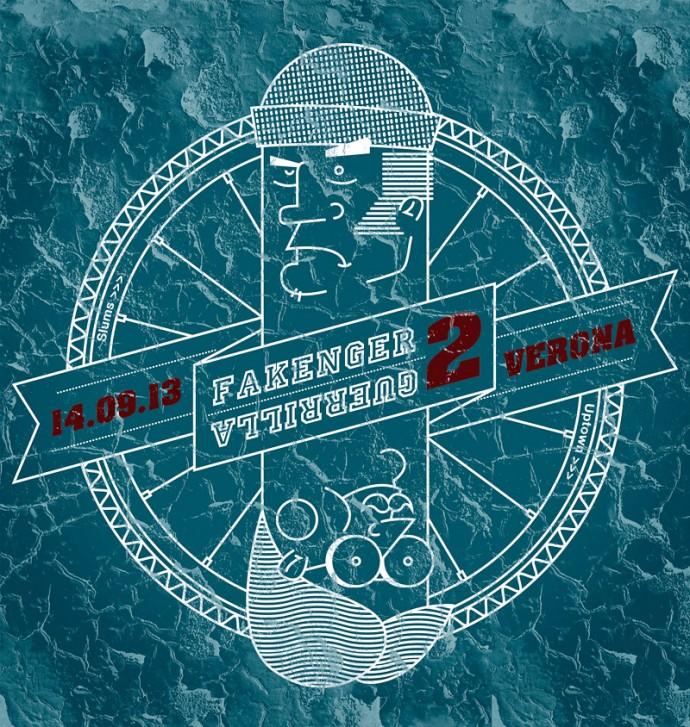 Fakenger Guerrilla 2 Alleycat Logo