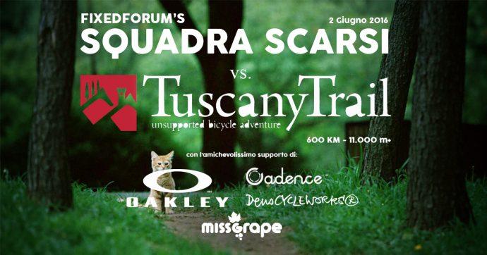 Squadra Scarsi vs Tuscany Trail