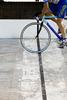 In bici con una gamba sola. - ultimo invio da bludado