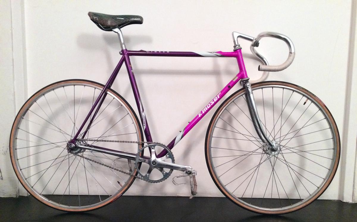 Rubato moser viola rosa piscina cozzi milano bici rubate for Piscina cozzi milano