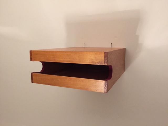 Vendo sa appendibici artigianale a muro portabici - Portabici in legno ...