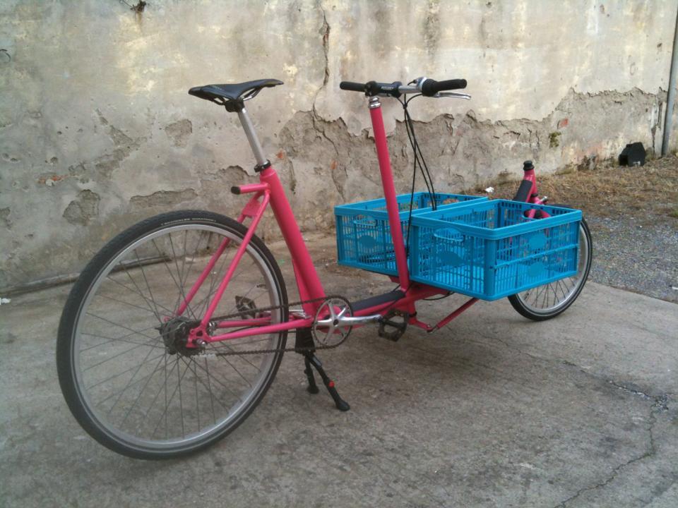 Venduto ribasso cargo ex bakfiets customizzato bici for Regalo roba usata
