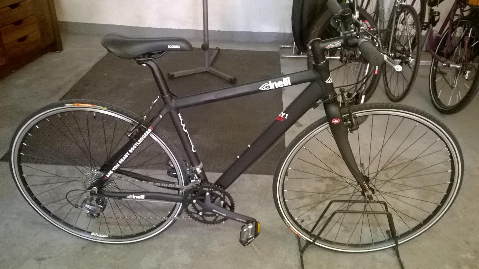 venduto cinelli bootleg hoy hoy rats taglia bici complete telai forcelle fixedforumit