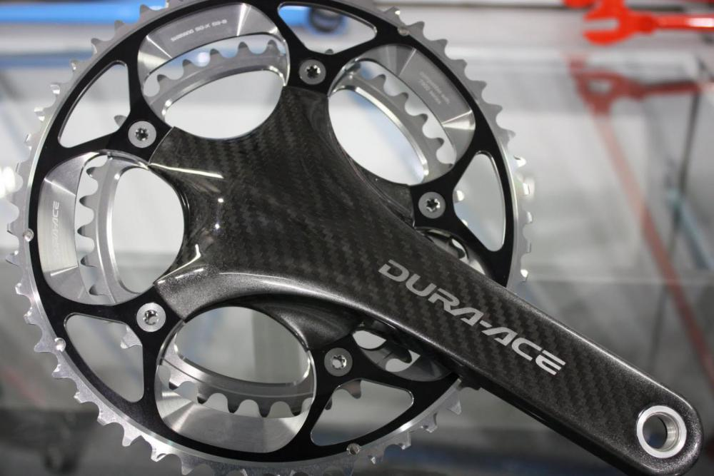 Dura_Ace_carbon_chainset_at_Condor_Cycles.JPG